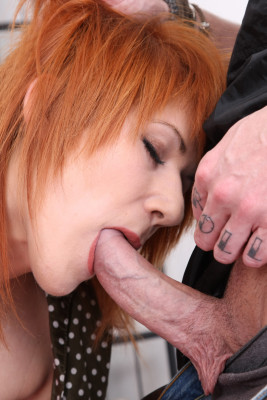 Ginger bitch ass fucked