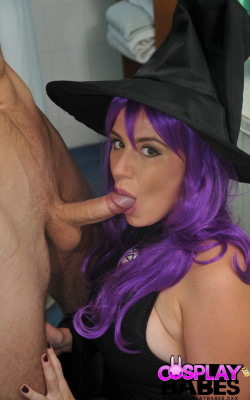 Busty witch gets fucked