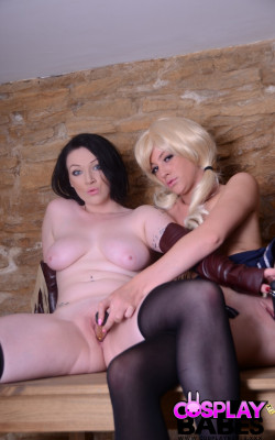 Babydoll and Blondie fuck