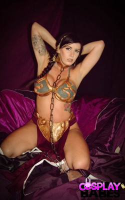 Star Wars hottie Leia